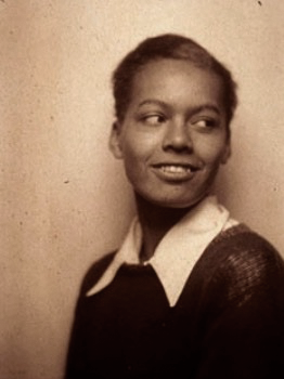 Early photograph of a young Pauli Murray